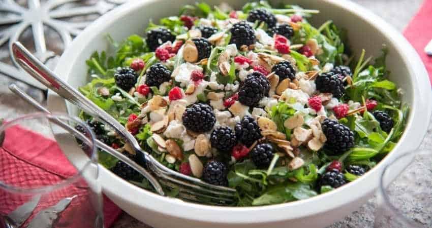 blackberry alternative for pomegranate in salad