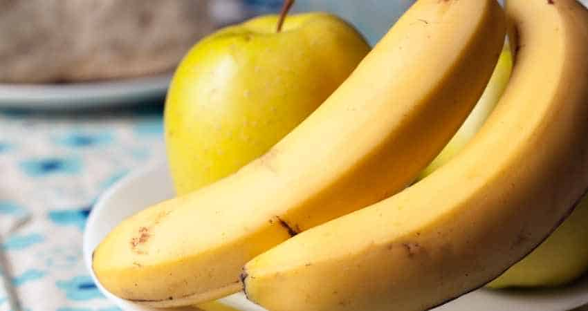 can you store bananas and apples together