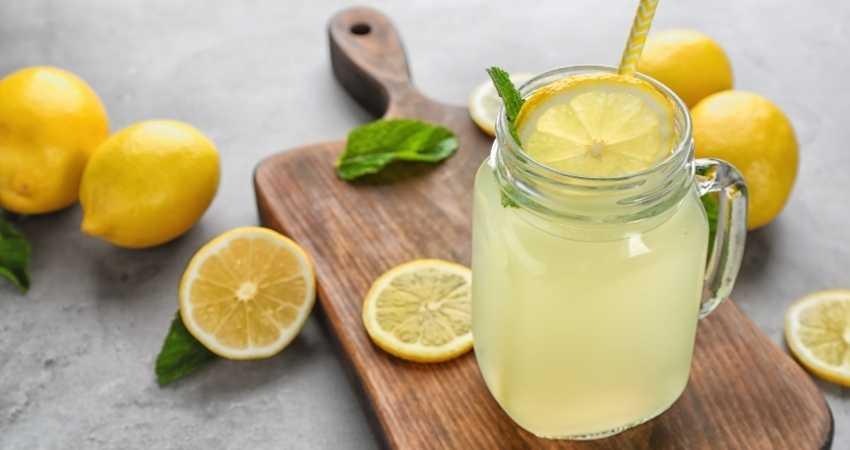 Freezing lemons for storage