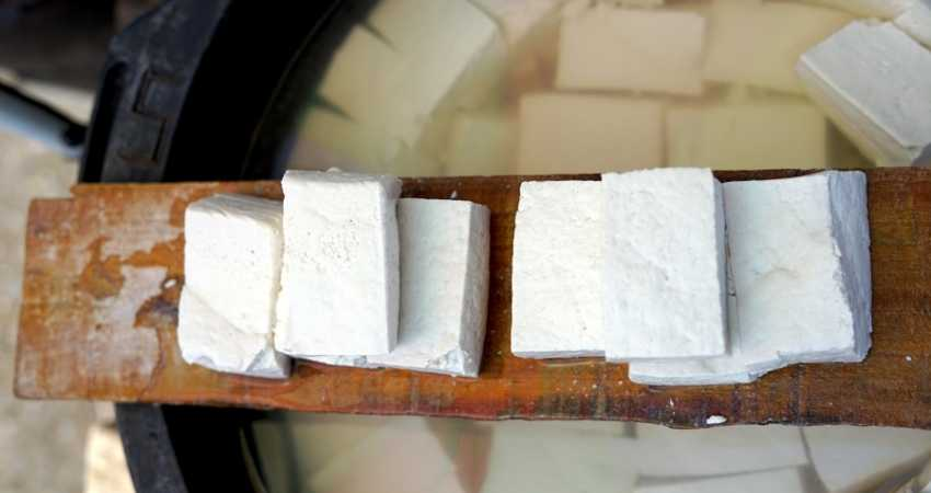 how to freeze tofu after cooking it