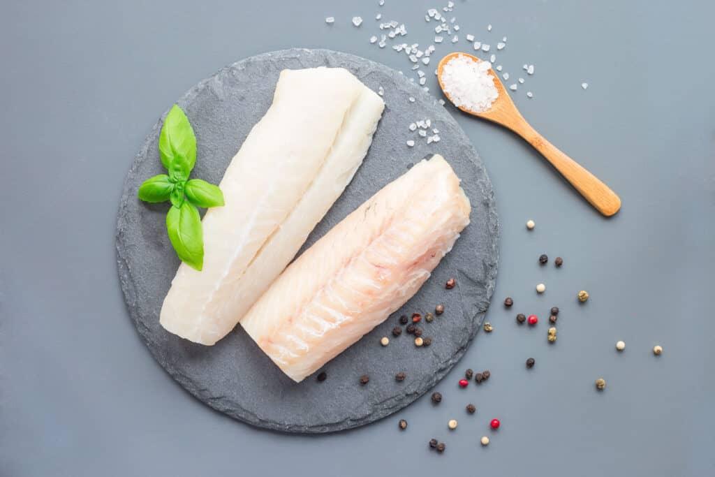 cod vs salmon